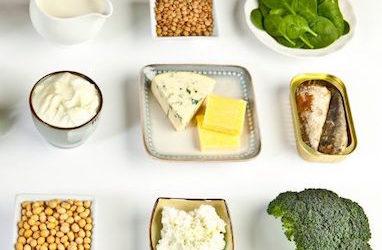 ¿Cómo conseguir una dieta rica en calcio con otros alimentos que no sean lácteos??