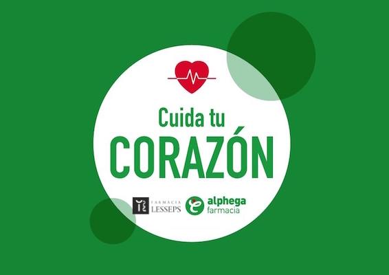 Campaña sanitaria: Cuida tu corazón con Farmacia Lesseps